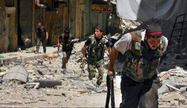Syria militants surrender in Zabadani near Lebanon border