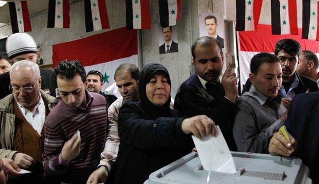 Syrian woman announces candidacy for presidential poll