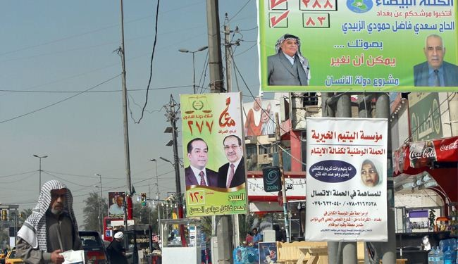 Iraqi security forces start voting 2 days before elections