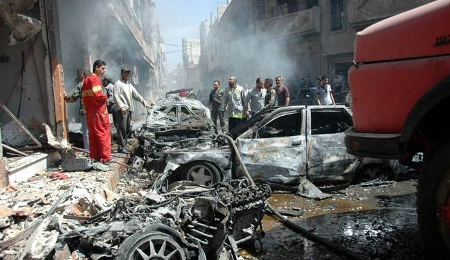 Death toll from attacks in Syria's Homs now at 100: NGO