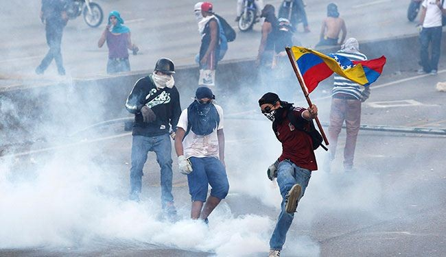 Venezuela nabs 58 foreign instigators of riots