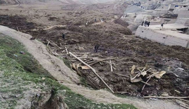 Afghan catastrophic landslide kills over 2,100