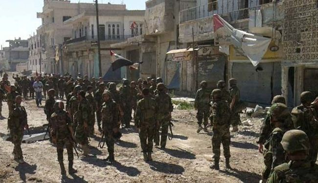 Syria army controls half of strategic town of Mleiha