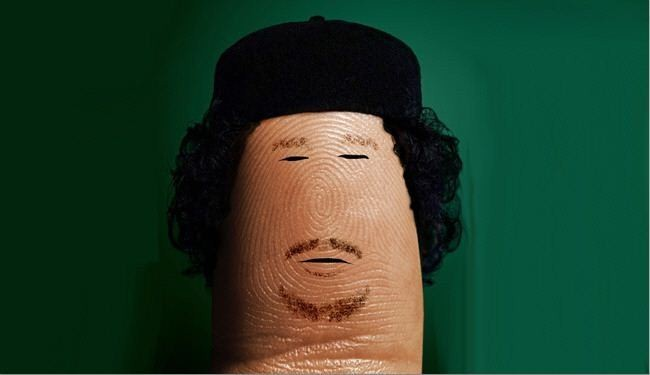 Interesting drawings of known figures on fingertip