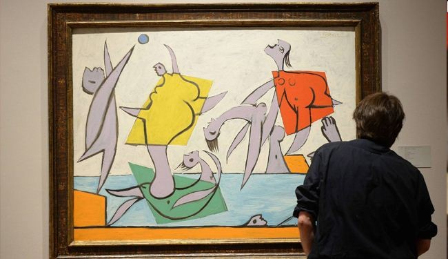 Picasso painting fetches $31 million in NY auction