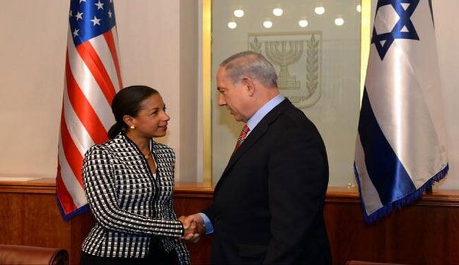 Rice boasts total US commitment to Israeli regime