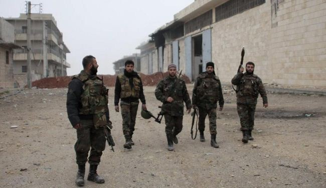 Many militants killed in Syria army mop-up operations