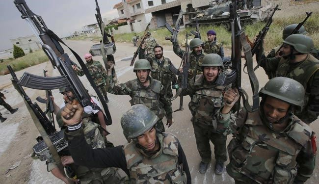 Syria army crush militants in Damascus, Aleppo, Idleb