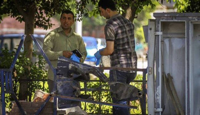 Bomb blast reported at Egypt polling station