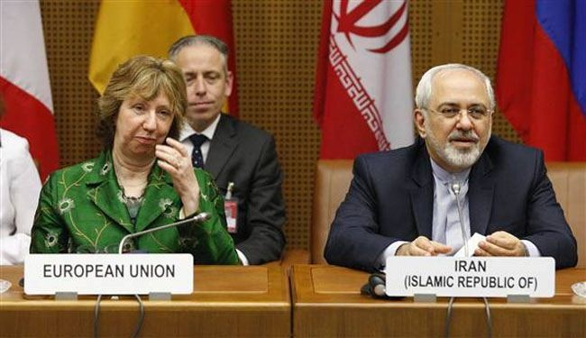 Zarif, Ashton hold talks in Istanbul