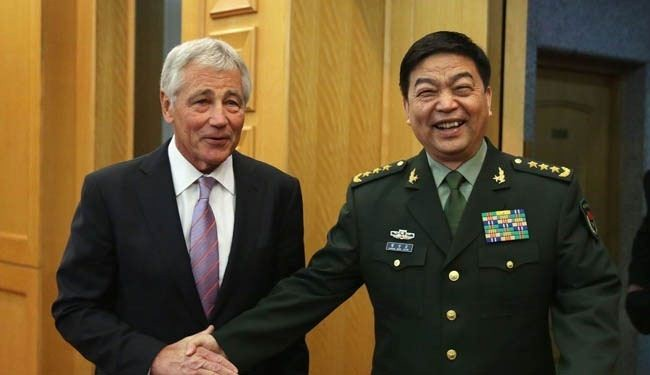 Hagel accuses China of threatening 'global order'