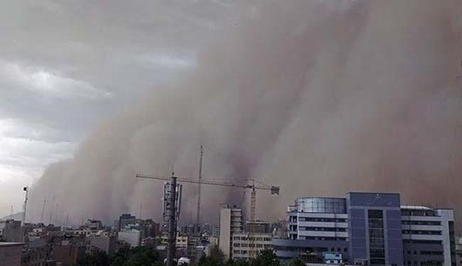 Five died in Tehran's massive sandstorm