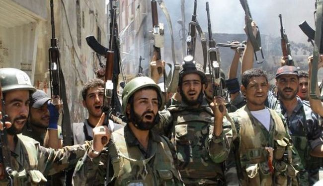 Syria army makes new gains near capital