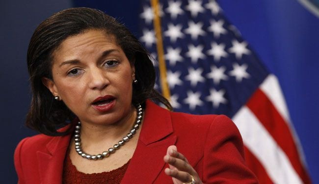 Rice says US supplying lethal aid to Syria insurgents