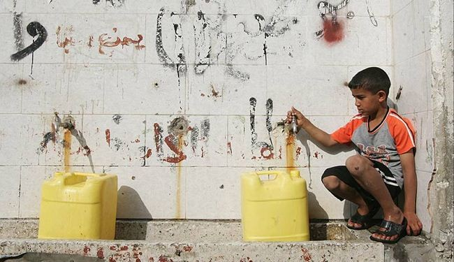 Israeli siege forces Gazans to drink polluted water