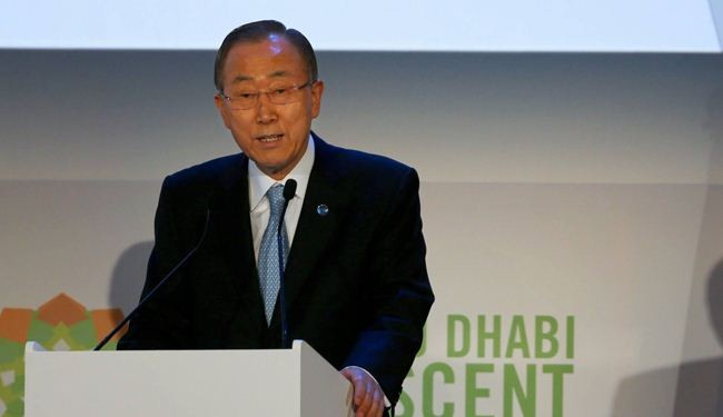 Ban Ki-moon calls for showing solidarity with Iraq