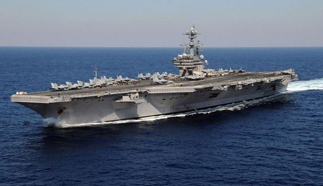 US moves aircraft carrier to Persian Gulf