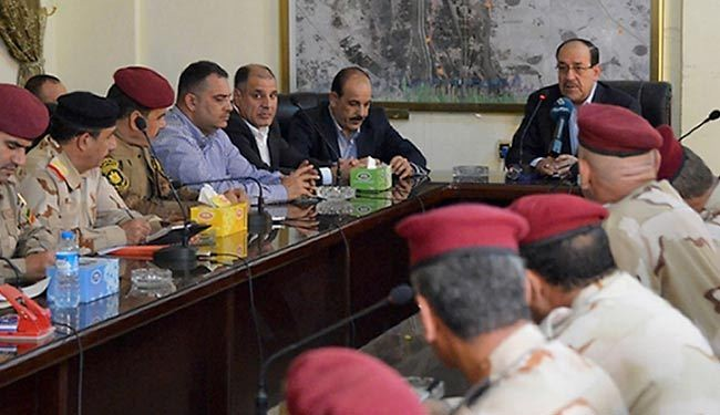 Maliki vows to defeat ISIL terrorists in Iraq