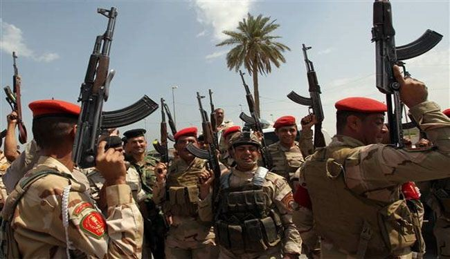 Iraq forces retake town north of Baghdad