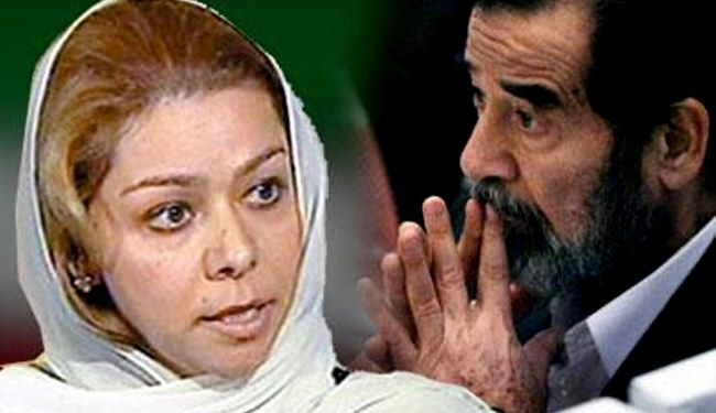 Saddam's daughter happy about insurgency in Iraq