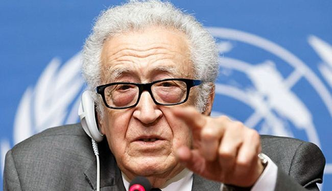Iraq turmoil rooted in Int'l negligence on Syria: Brahimi