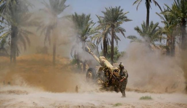 Iraq pounds ISIL positions north of Baghdad