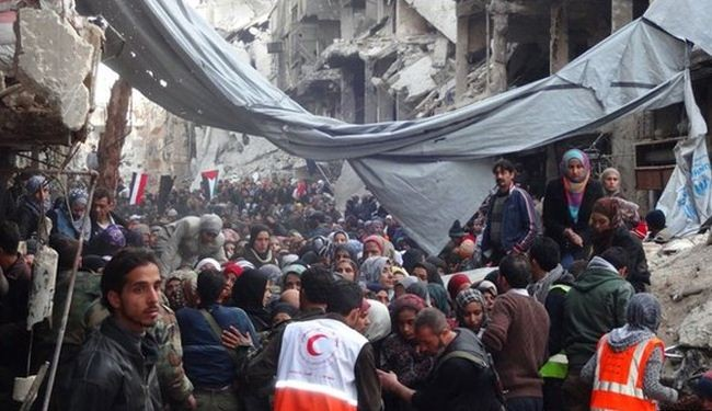 Syria, insurgents reach truce in Yarmouk camp