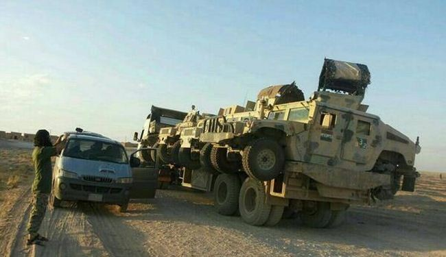 ISIL using US vehicles to fight Syria rivals