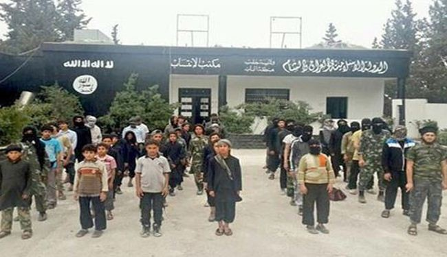 ISIL recruits 10-year-old kids in Iraq, Syria