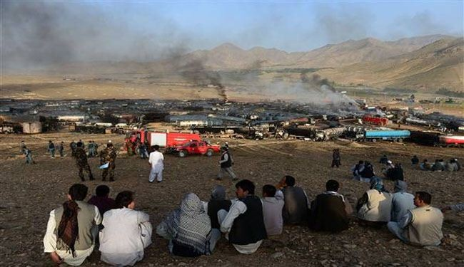 Militants set hundreds of fuel tankers ablaze in Afghanistan