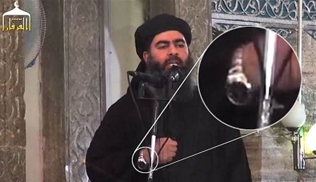 Flashy wristwatch of purported ISIL leader mocked