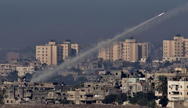 Hamas fires hundreds of rockets at Israeli areas