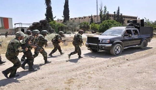 Syrian troops crush infiltration bids by insurgents