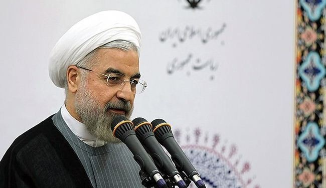 Rouhani: Everyone should ask UN to act on Israel crimes