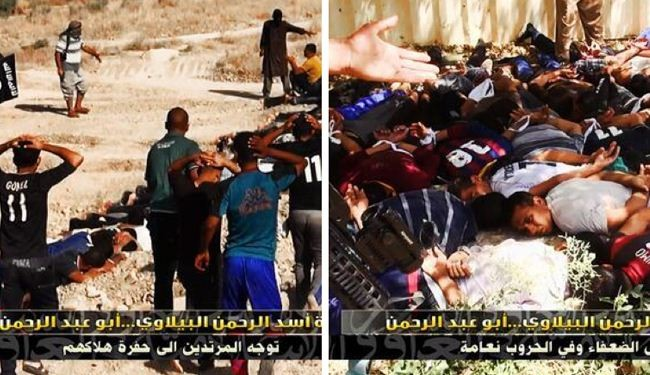 Photos prove mass killing by ISIL in Iraq's Tikrit