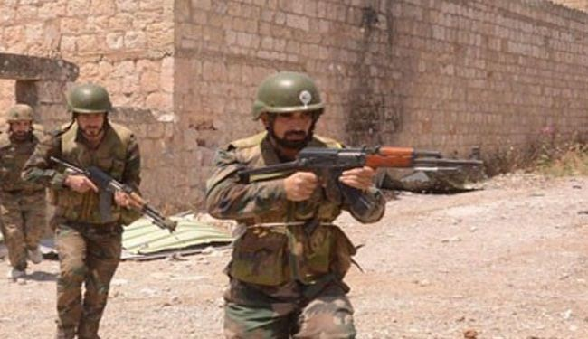 Syria army retakes parts of Mleiha town