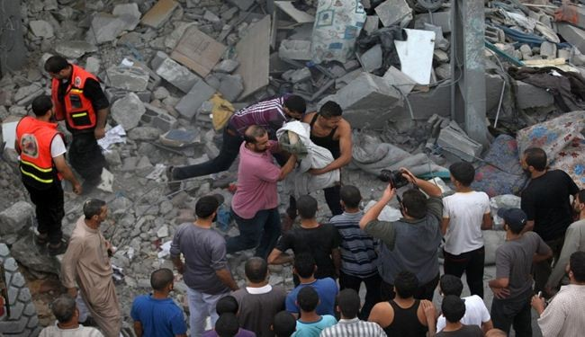 Gaza death toll rises to 165