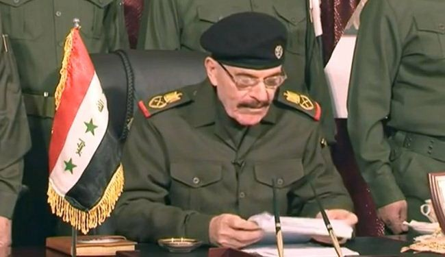 Saddam deputy praises IS militants in unverified message