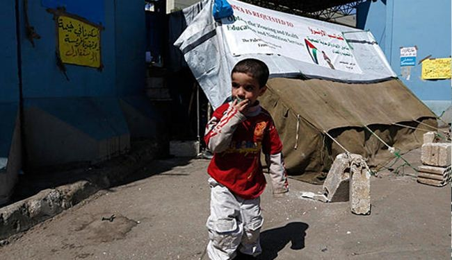 1000's of Palestinians seek shelter at UNRWA HQs