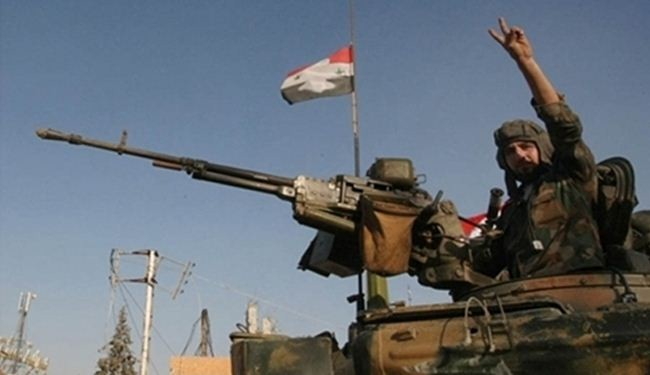 Syrian forces expand mop-up operations