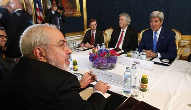 Kerry says had 'good' talks with Zarif, Ashton