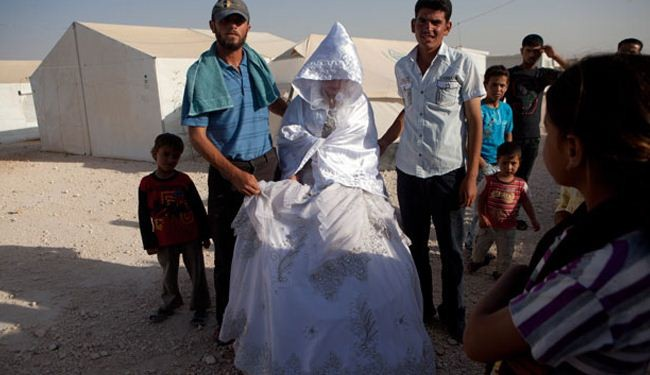 NGO warns of doubled child marriage among Syrian refugees