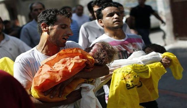 Children, tragic victims of Israeli aggression on Gaza: rights groups