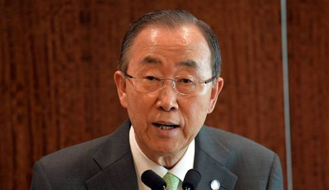 UN chief slams Israel 'atrocious action' on Gazans