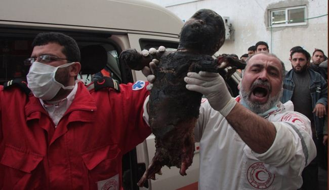 100 killed in Gaza in single day by Zionist forces
