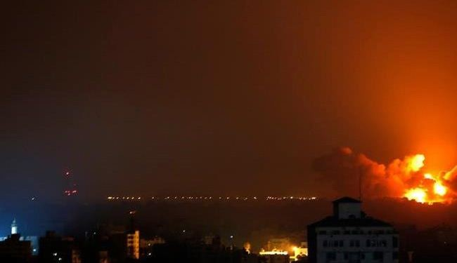 Israeli airstrikes hit 5 mosques, football stadium in Gaza