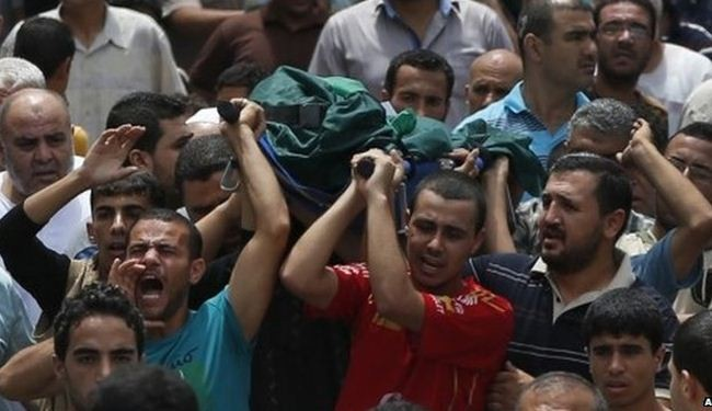 Gaza death toll mounts to 701
