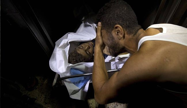 In pictures: Heartbreaking scenes of grief over family loss in Gaza