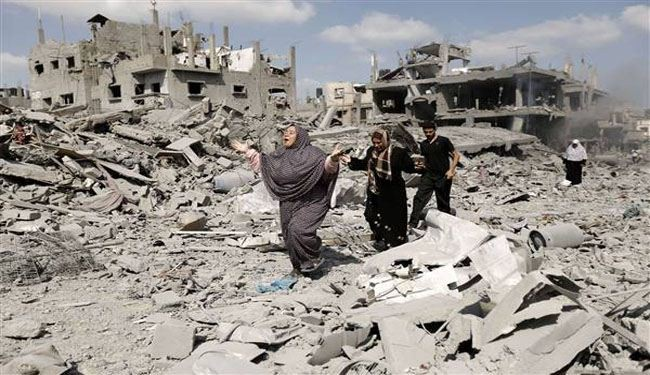 Gaza truce: Palestinians recover scores of bodies from debris