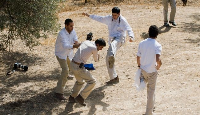 Israeli settlers beat Palestinians in West Bank